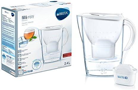 Brita Marella White Carafe filtrante avec Maxtra+ 2,4 L blanc