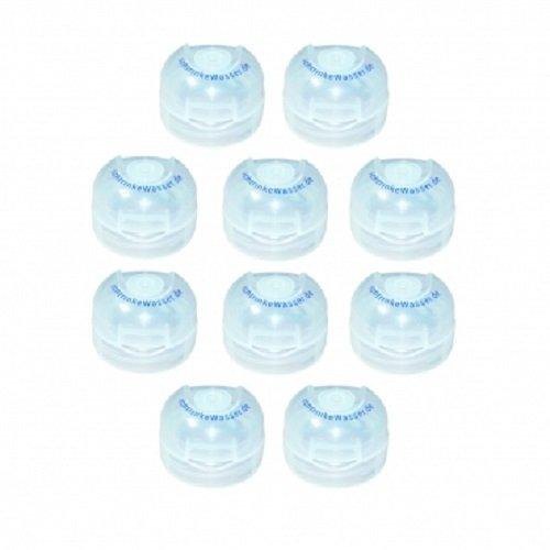 10er Set Klappdeckel für Tritanflaschen von Acala