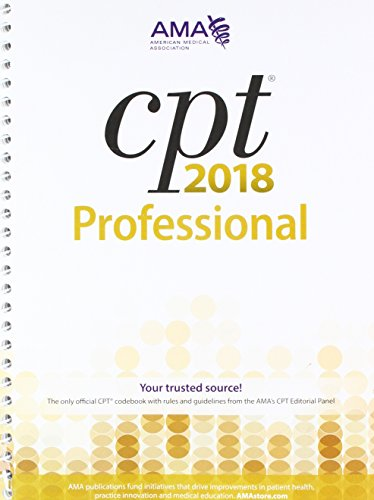 CPT 2018 Professional Codebook and CPT QuickRef App Package