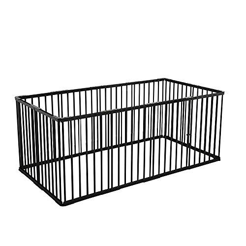 ペットサークル 犬用 サークルケージ 小型 ドア付き ペットフェンス DIY ゲージ ペット柵 室内 ケージ ゲート 12枚 アウトドア 留守番 接続式 屋外 中型犬 レイアウト自由 多頭 広げる 取り付け簡単 犬舎