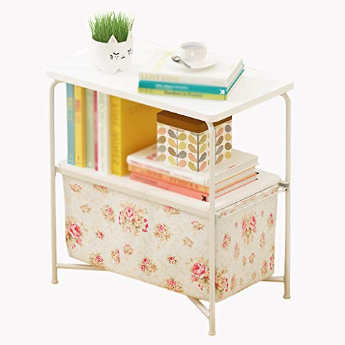 YULAN Creative Mode Mobile Simple Salon Moderne Rectangulaire Téléphone Canapé Petite Table Basse Rangement Table D'appoint (Color : A)