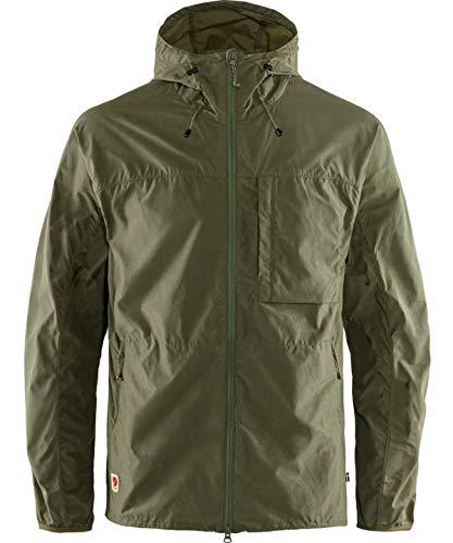 FJALLRAVEN High Coast Wind Jacket M Chaquetas, Hombre, Green