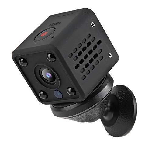 Mini cámara 1080P con Soporte magnético Batería Recargable incorporada 800Mah Cámara de Seguridad Inteligente(U.S. regulations)