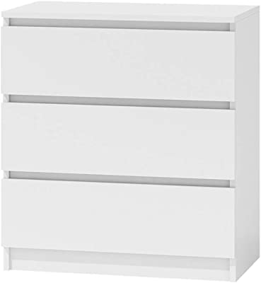 Selsey Commode, Blanc, 70 x 77 x 40