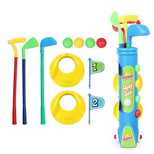 KX-YF Niños Golf De los niños de Fitness Golf Juguetes de bebé Cubierta Deportes al Aire Libre Juguetes niños y niñas Juguetes educativos cumpleaños de Navidad al Aire Libre