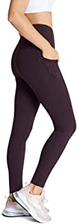 Rockwear Activewear Women's Fl Perforated Pocket Tight BlackBerry 14 from Size 4-18 for Bottoms Leggings + Yoga Pants+ Yog...
