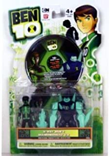 Ben 10 Figure 2 Pack with DVD - Glow-in-the-dark X-ray Ben & Diamondhead V.2