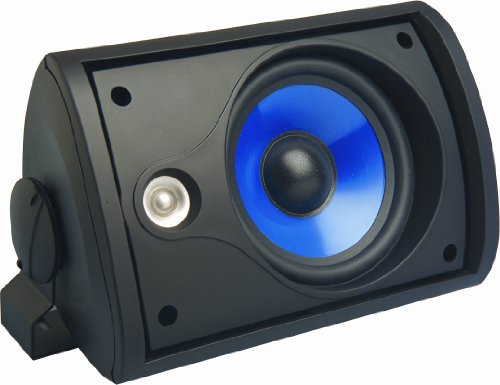 Legrand, Home Office & Theater, Outdoor Speakers, Black, 5.25 inch, 3000 Series, MS3523BK, 2 Pack