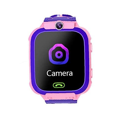 PiniceCore 1 Pc wasserdichte Kinder-Uhr SOS Antil-verloren Smartwatch Baby-2g-sim-karte Uhr Anruf Ort Smartwatch Für Kind-Geschenk-rosa