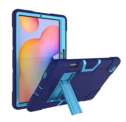 Custodia per Samsung Galaxy Tab S6 Lite 10.4 2020, Custodia protettiva ibrida a tre strati con supporto per matita Cavalletto per Samsung Galaxy Tab S6 Lite10,4 (P610 / P615) (Blue)