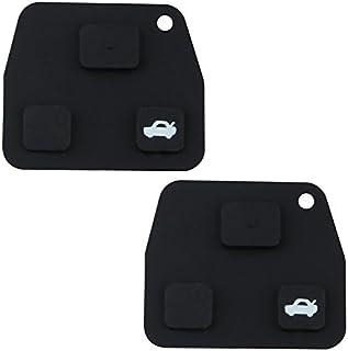 6 pulsadores DON LLAVE/® AMDLSM17A3 Pack de 2 botoneras de reemplazo para llave de 3 botones Modelos en el interior