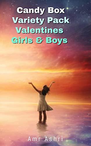 Candy box variety pack valentines girl. boys: Candy box variety pack for valentines (English Edition)