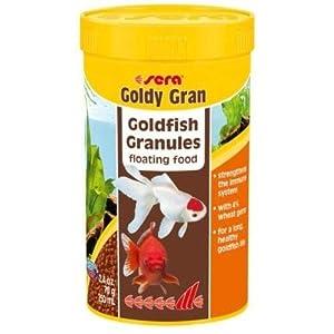 Sera Nature Alimento granulado para Carpas Doradas Grandes con un 4% de harina de Insectos, 250