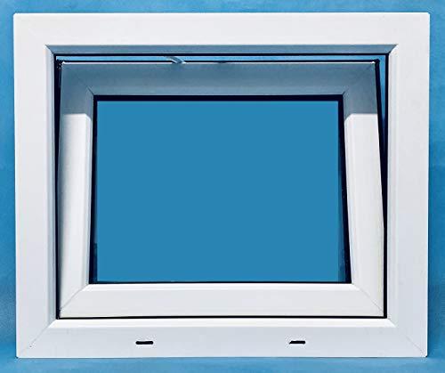 ECO-BLU V08M Finestra PVC apribile, Bianco