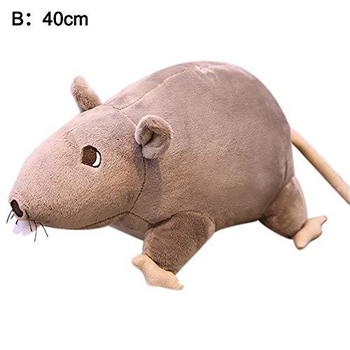 miju 2020 3D Plüsch Rat Maus Pup...
