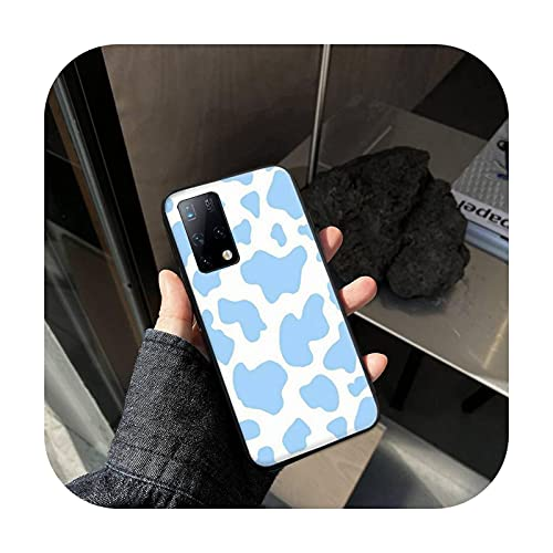 Phone cover Negro blanco vaca imprimir teléfono cajas para Samsung A01 A10S A20S A20 A20E A30S A31 A40 A50S A51 A70 A71 A80 cubierta fundas coque-A5-para Samsung A30S
