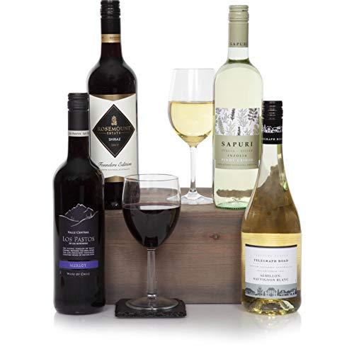 Special Selection Four Bottle Wine Gift - Finest Wines - Wine Hampers For Him or For Her