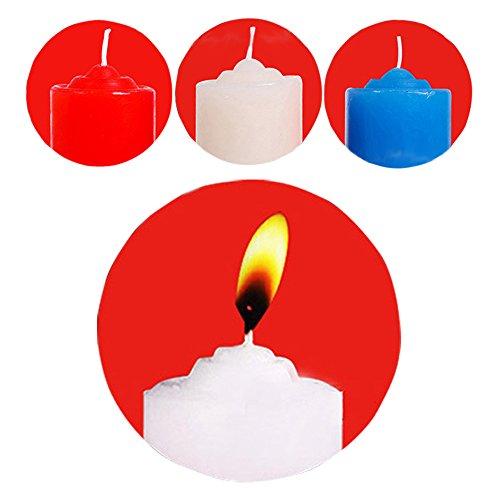 WJkuku 3 Pcs Sex Sensual Candles ~ Low Temperature / Sensual Hot Wax Candle