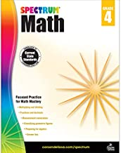 Spectrum | Math Workbook | 4th Grade, 160pgs