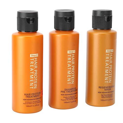 12% mascarilla brasileña para suavizar el cabello con queratina, aceite de peinado brasileño de larga duración, champú para el cabello, acondicionador reparador, juegos de regalo y productos para el c