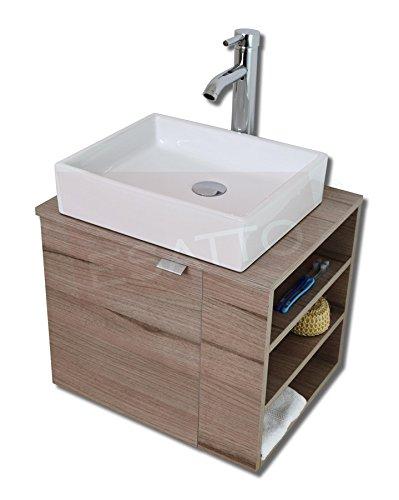 Esatto Mueble para Baño DTUA Platz Lavabo Cerámica Llave contra Céspol