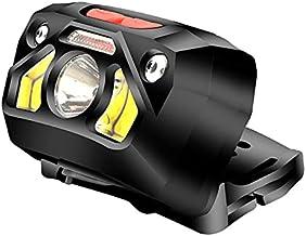 High-Power Outdoor Smart USB Oplaadbare Koplampen Outdoor Sterke Licht Waterdichte Vissen Aas Lichten Jacht Muggenafstoten...