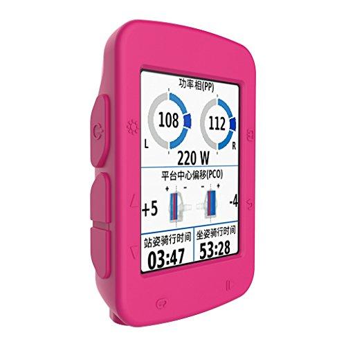 Buwei Funda de Piel de Silicona Multicolor computadora de Ciclismo Garmin Edge 520 GPS