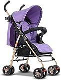 2021 New Triciclo Triciclo para niños Cochecitos de bebé Puede sentarse tumbado Absorción de golpes Plegable Ultraportátil Verano Bebé Niño Niños Carro de paisaje alto Triciclo de bebé Silla de empuje