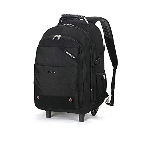 Carrello zaino multifunzione grande capacità Ultralight Zaini è viaggio aviazione bagaglio affari valigia Daypack zona 2 Ruota silenziosa , 17 inches