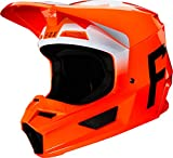 casco fox motocross naranja