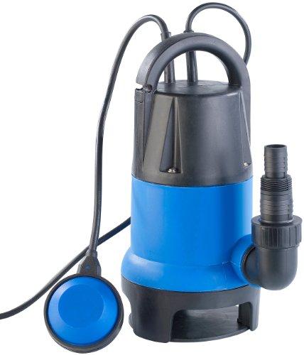 AGT Schmutzwasserpumpe: Tauchpumpe 400W mit Schwimmschalter - für Schmutzwasser geeignet (Gartenpumpe)