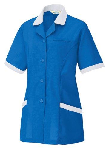 アイトス 半袖スモック(春夏用) AZ-5369 006 ロイヤルブルー 5Lサイズ