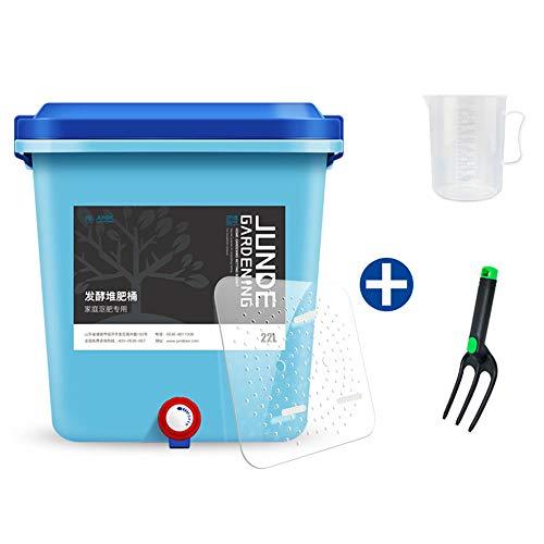 Best Deals! Kitchen sealed compost bin, 22L bucket household fermentation tank Environmentally-frien...