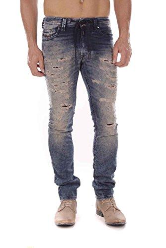 Diesel Thavar SP-NE JoggJeans 0674V Herren Jeans (Blau, W40)