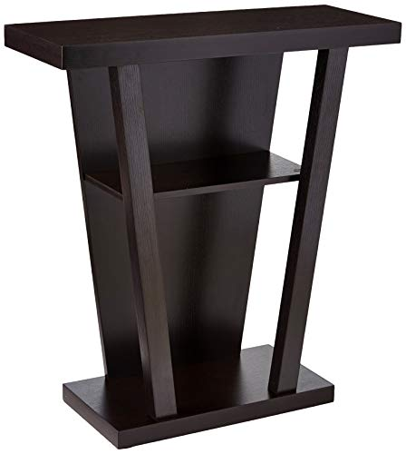 Coaster Home Furnishings Console Entry Table, Cappuccino