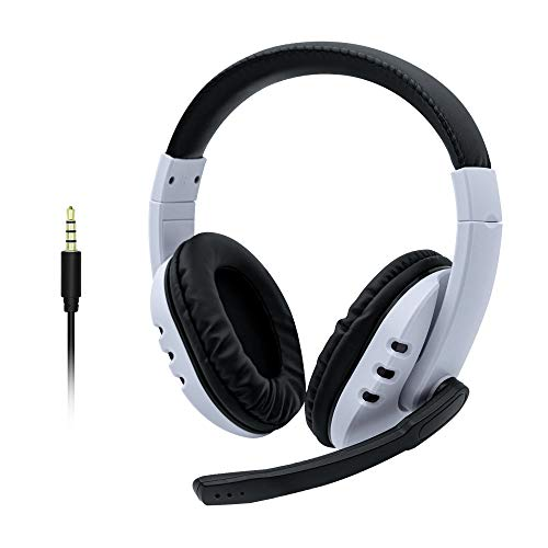 Mcbazel 3.5mm kabelgebundenes Over-Ear Stereo Sound Gaming Headset mit Mikrofon für PS5/PS4/Xbox One Serie/Xbox 360/NS Switch/PC