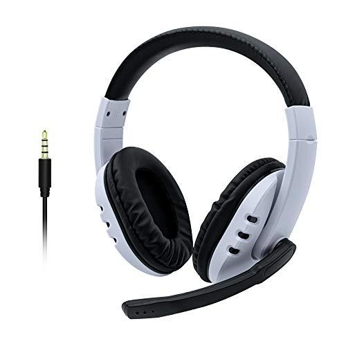 Mcbazel 3.5mm kabelgebundenes Over-Ear Stereo Sound Gaming Headset mit Mikrofon für PS5/PS4/Xbox One Serie/Xbox 360/NS Switch/PC