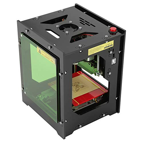 NEJE Laser Engraver Printer, 550x550 Pixel DIY USB Mini Engraving Machine, CNC Router Cutting Carver Off-line Operation for Art Craft Science, High Speed Laser Engraving Cutter