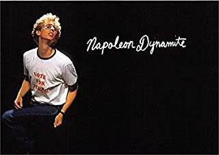 Napoleon Dynamite trading card Dance Moves Jon Heder 2005 #ND12