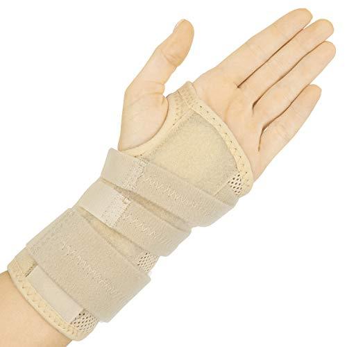 Dual Splint Wrist Brace by Vive (Beige)