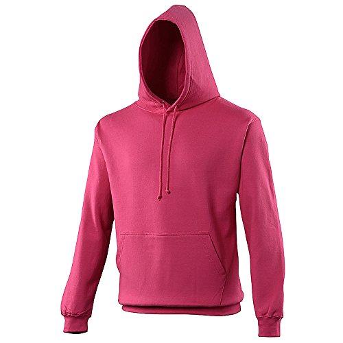 Anvil - Sweatshirt à capuche - Adulte unisexe (L) (Rose)