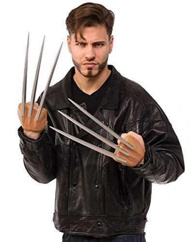 Horror-Shop X-Men Wolverine Krallen 35cm für Fasching & Halloween