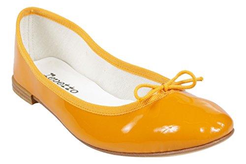Repetto – V086V – Ballerina Nagellack Orange, Orange - Orange - Größe: 36 EU