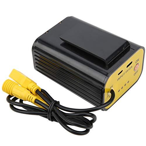 Asixxsix Tenedor de batería, Duradero, Resistente al Agua 18650, para Luces LED con Luces USB