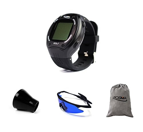 Check Out This POSMA GT1PB GT1Plus Golf Trainer GPS Golf Watch Bundle Set with 1pc Golf Ball Finder ...