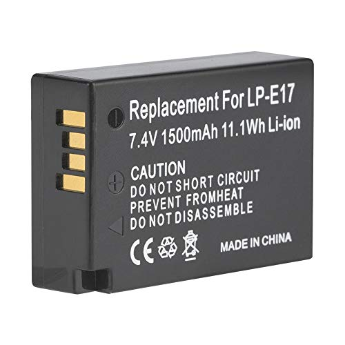 LP-E17 - Caricatore per batteria di ricambio professionale per EOS M3 EOS 750D EOS 760D EOS T6I
