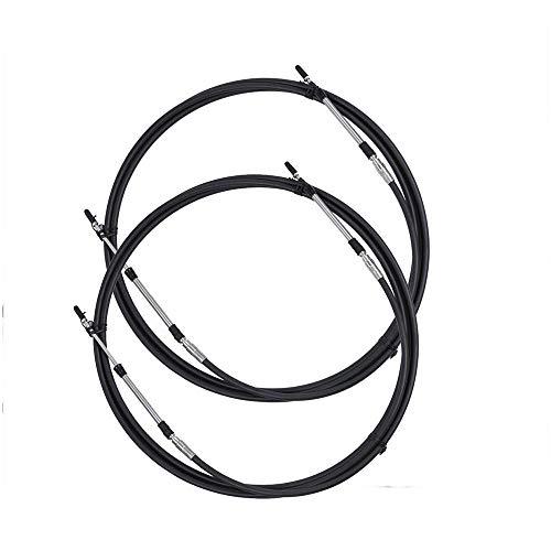 SSI Marine Kabel für Außenbord-Fernbedienung C2, 2,7 m, für Yamaha Suzuki Tohatsu