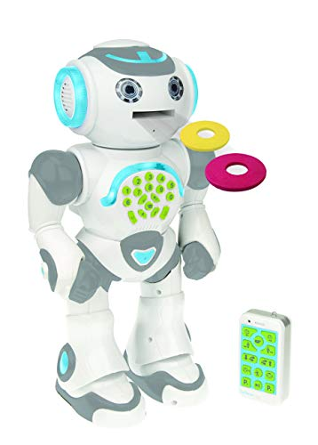 Lexibook- Powerman Max-Robot éducatif et programmable pour Jouer et Apprendre-Jouet pour garçons et Filles-Parle en français, Danse,...