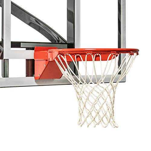 Goalsetter HD Breakaway Single Spring Basketball Rim Includes Mounting Hardware and Nylon Net