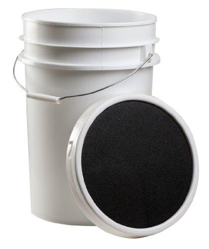 Champion Sports Baseball Bucket, White